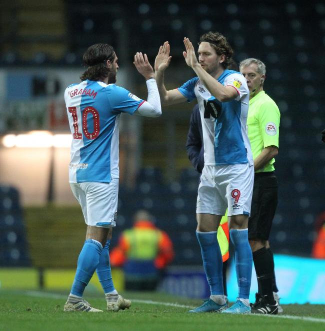 Danny Graham and Sam Gallagher are two of Rovers' central striking options