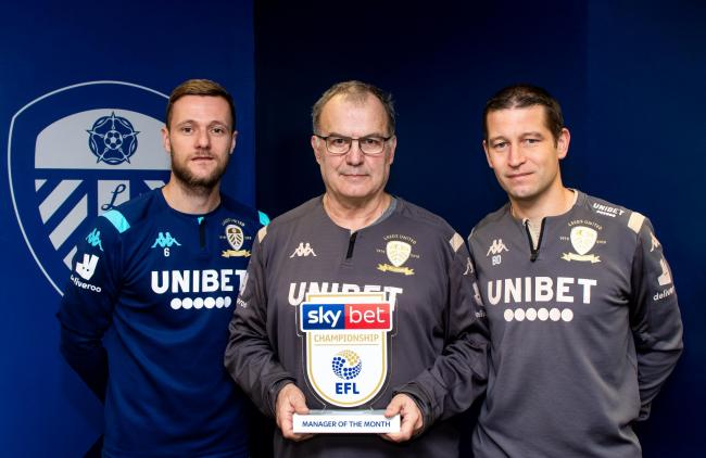 Leeds United boss Marcelo Bielsa won the manager of the month prize for November