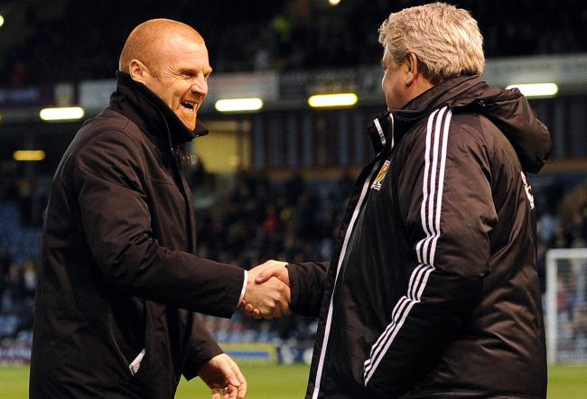 Sean Dyche and Steve Bruce back in 2013
