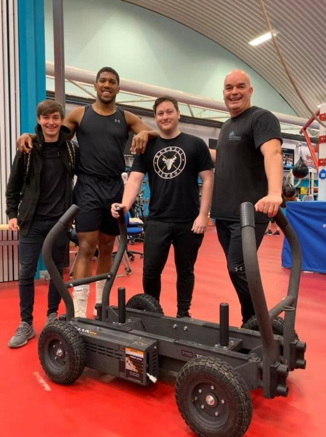 Heavyweight help for AJ from East Lancs firms