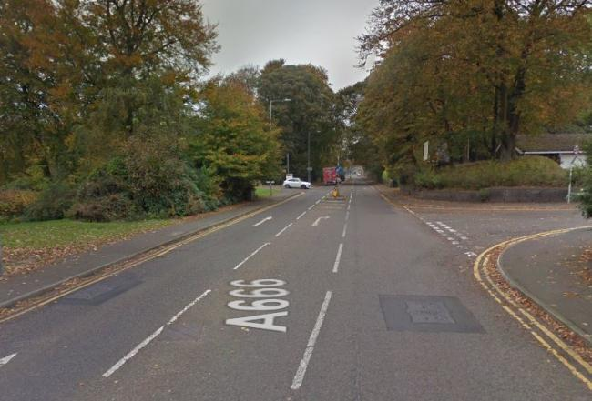 Man dies after crash on A666 overnight