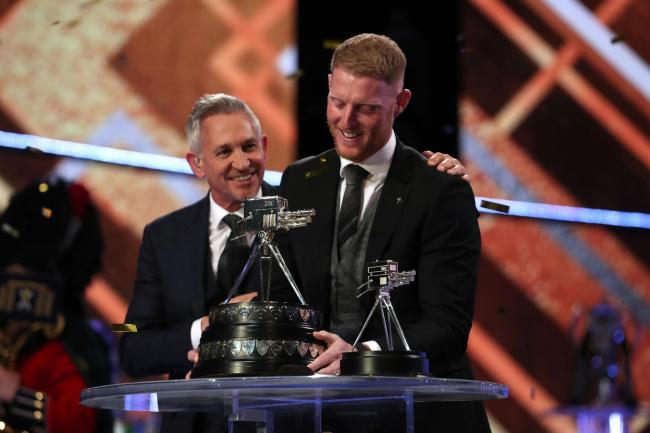 Ben Stokes won BBC Sports Personality of the Year Award on Sunday night