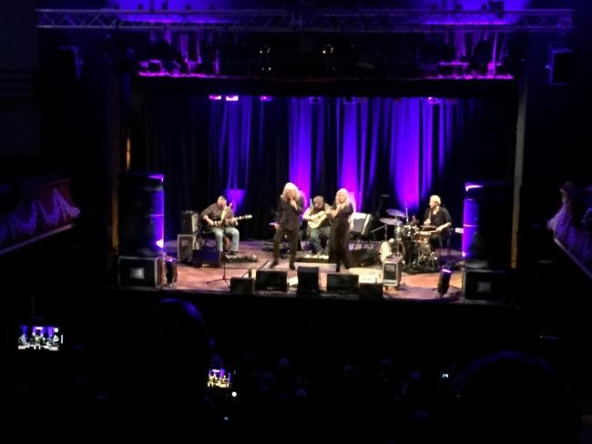 Robert Plant and Saving Grace, Colne Muni