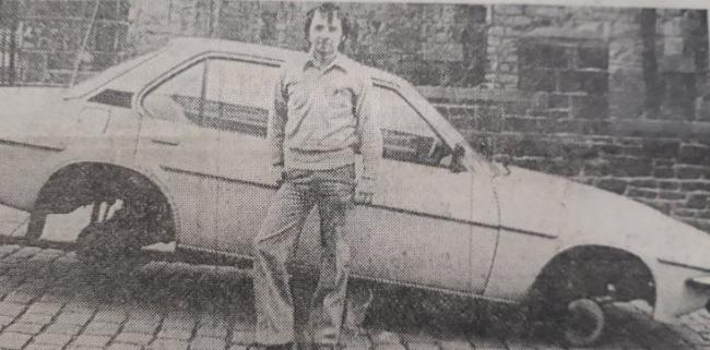 Mario Fardella's Vauxhall Cavalier