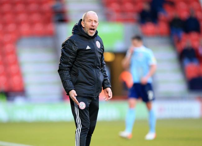 Accrington Stanley assistant manager Jimmy Bell on today's match at Blackpool