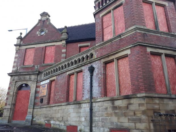 Lancashire Telegraph: The derelict building