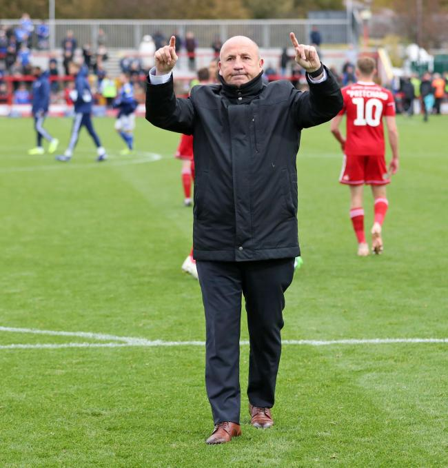 John Coleman is delighted with how his Accrington Stanley side defended in the win over Burton Albion