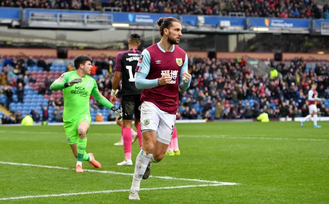 Jay Rodriguez starred in Burnley's third round win over Peterborough