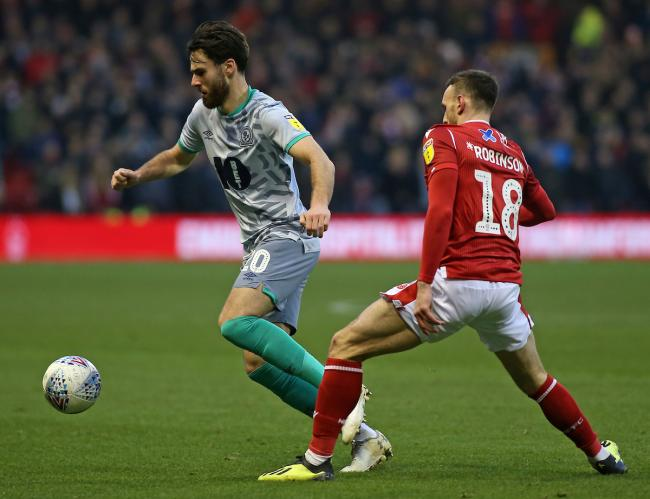 Ben Brereton made a rare Championship start in Rovers' defeat at Nottingham Forest