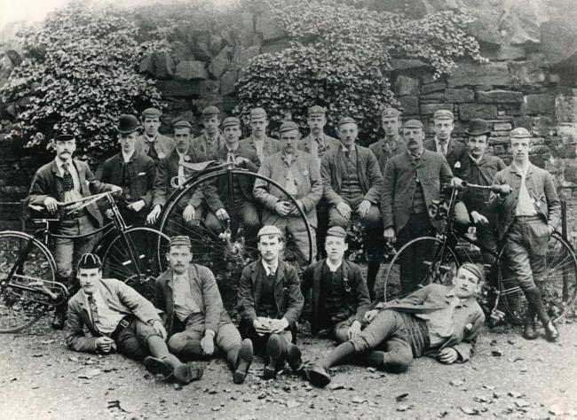 Burnley Zingari Cycling Club 1889