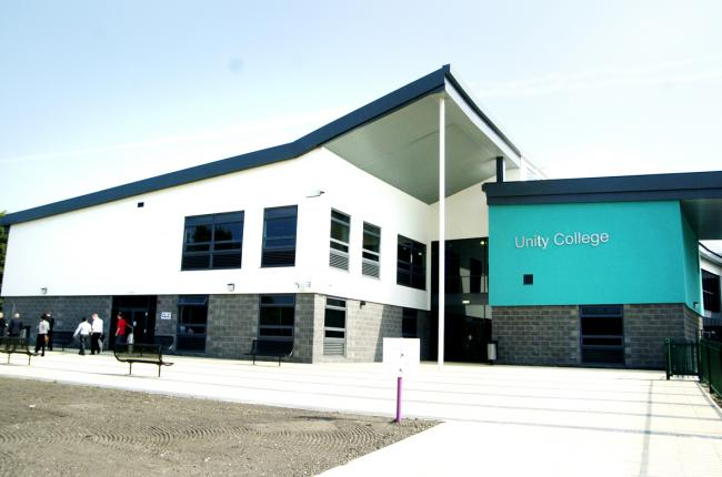 Unity College in Burnley