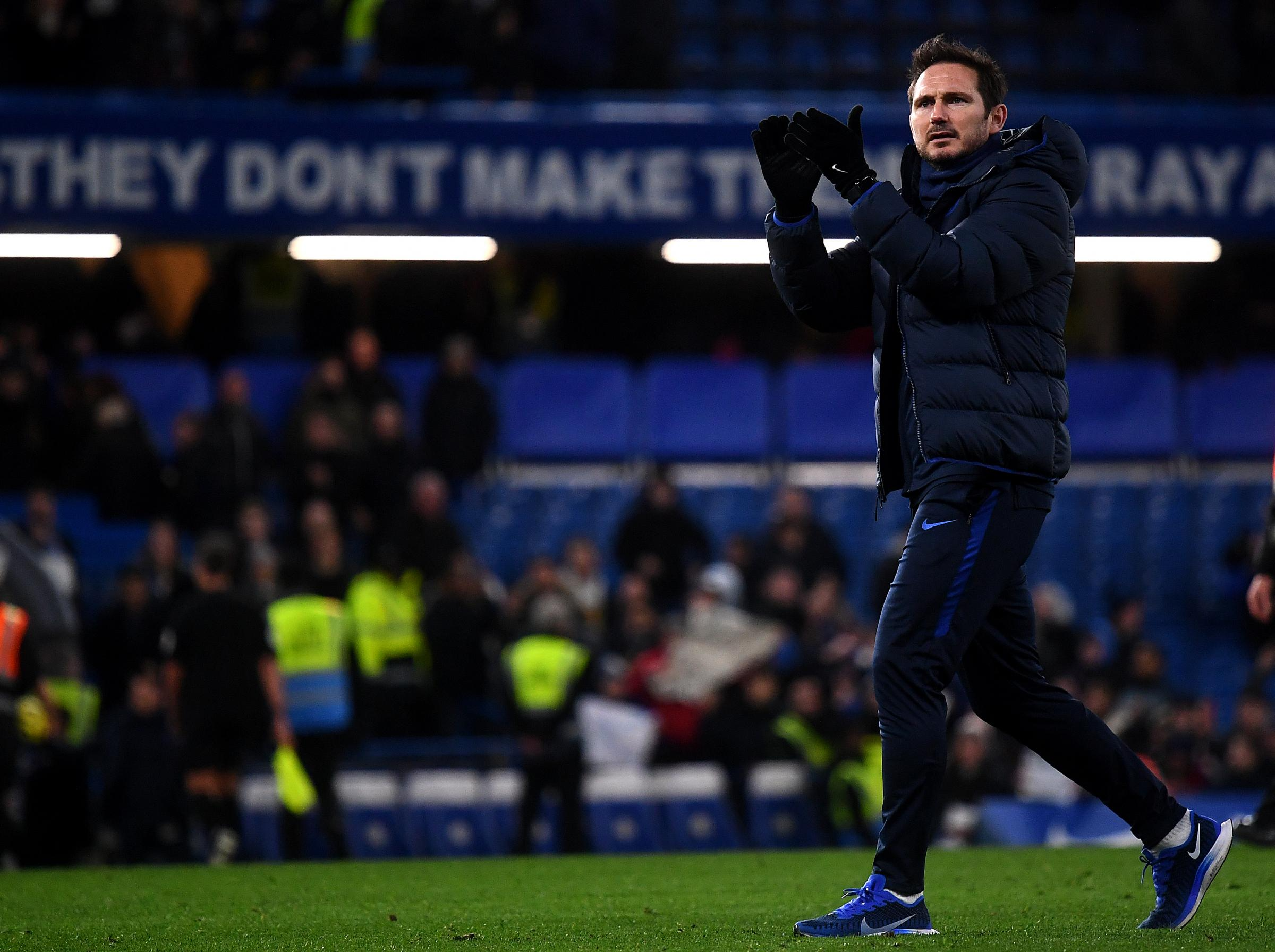 Frank Lampard on key to Chelsea's victory over Burnley