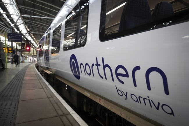A Northern train. Picture: PA Wire.