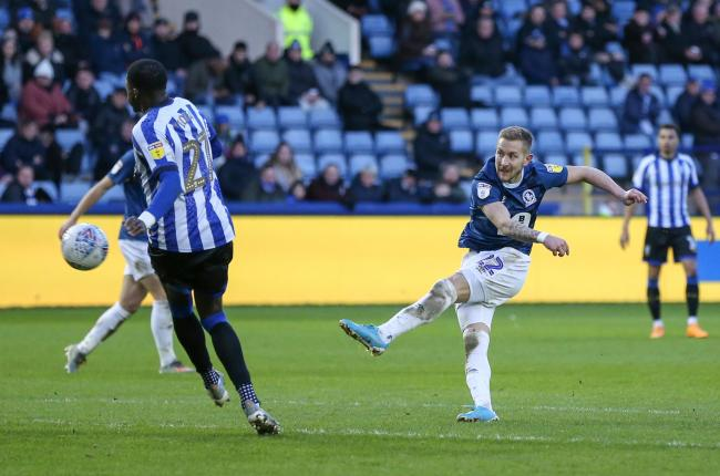 Lewis Holtby scored twice in Rovers' win at Sheffield Wednesday