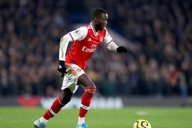 Nicolas Pepe cost Arsenal a reported £72million
