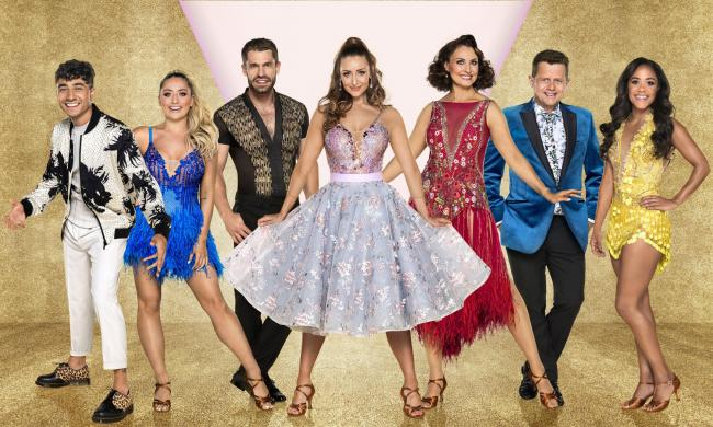 Coronation Street star Catherine Tyldesley back on Strictly dancefloor at Manchester Arena