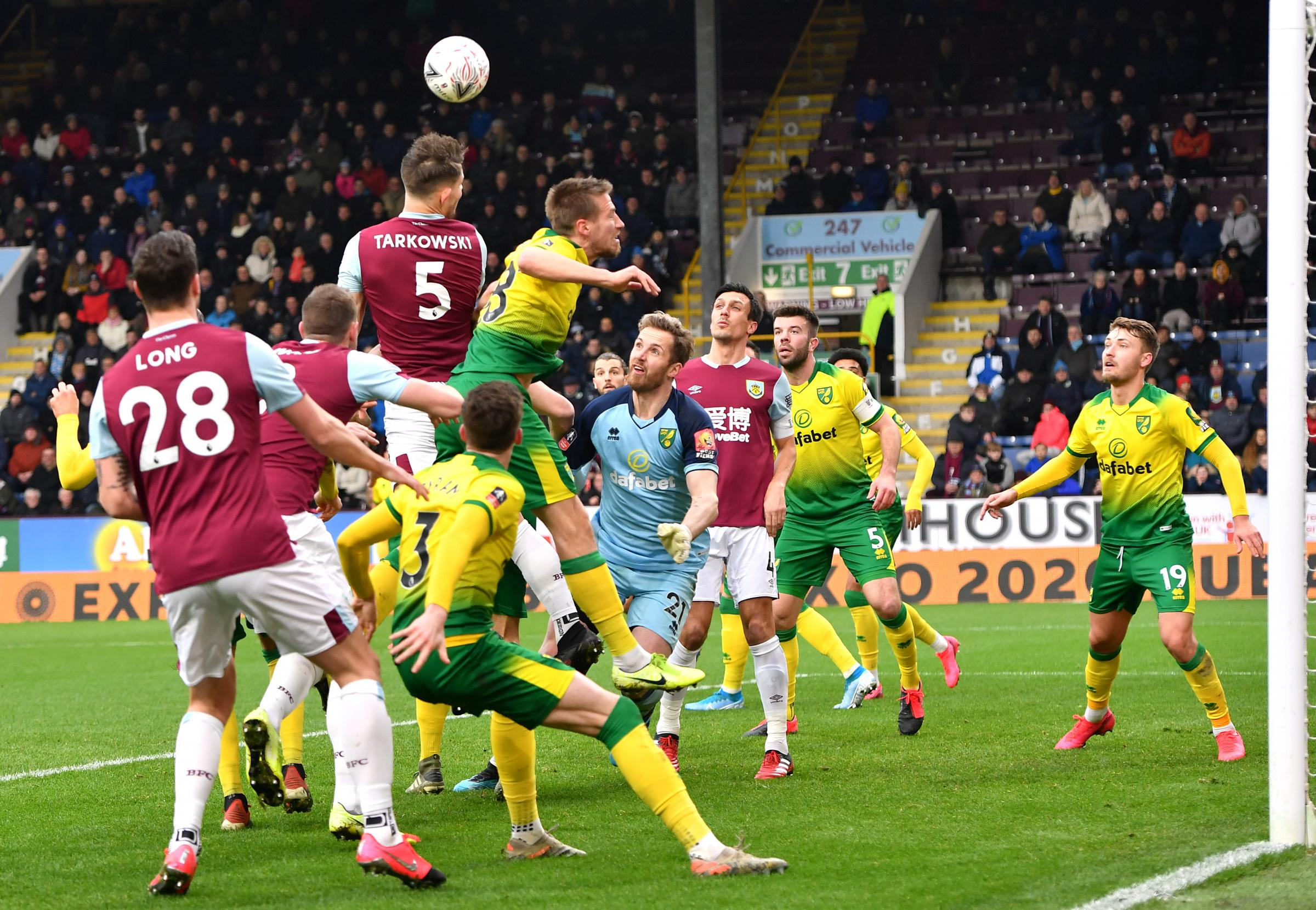 Burnley 0-2 Norwich live FA Cup updates from Turf Moor