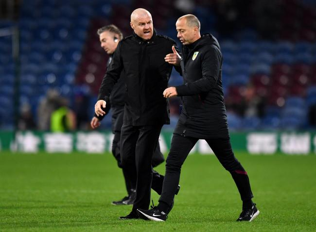 Sean Dyche cuts a frustrated figure at full-time