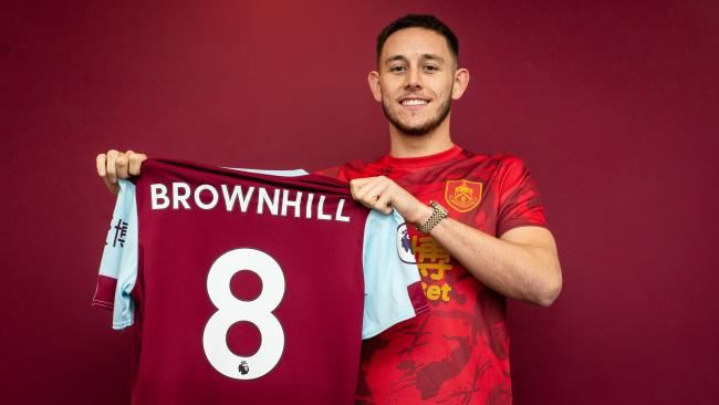 Josh Brownhill. Picture: Burnley FC/Andy Ford