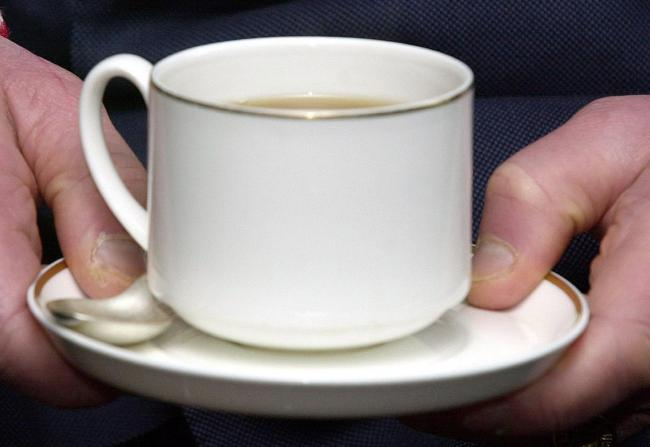 Undated generic file photo of a cup of tea. Already renowned as a nation of tea-drinkers - a survey has now discovered that a cuppa is the very first thing Britons think of when they wake in the morning. When the alarm goes off, tea is what Britons hanker