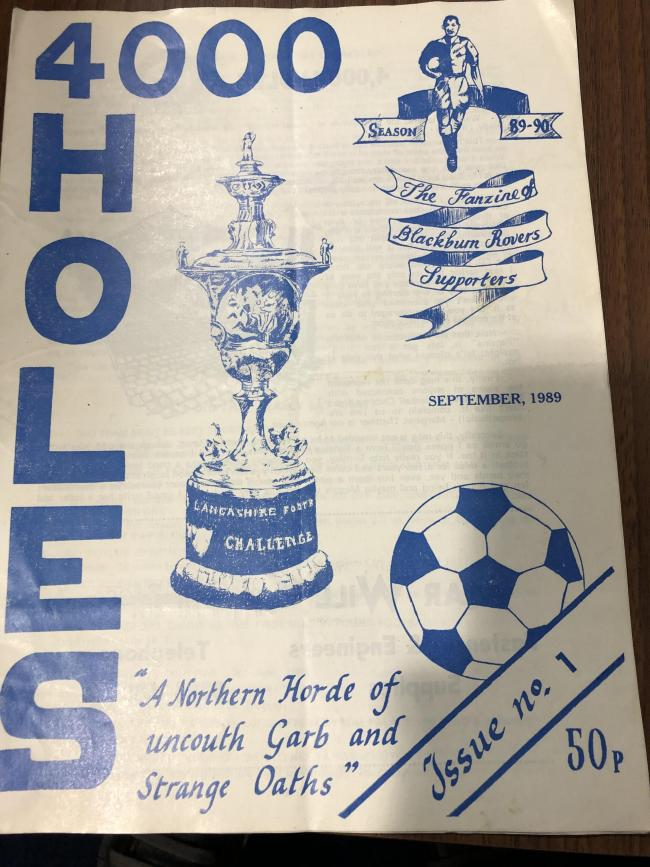 The fanzine was launched in 1989 after Rovers' play-off defeat to Crystal Palace