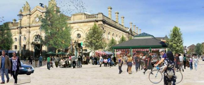 How Accrington town square could look