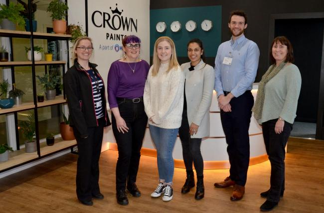 Crown Paints has announced a three-year charity partnership with the Alzheimer's Society