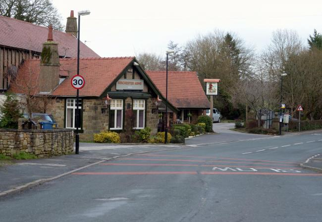 Ribchester Arms in Blackburn Road, Ribchester