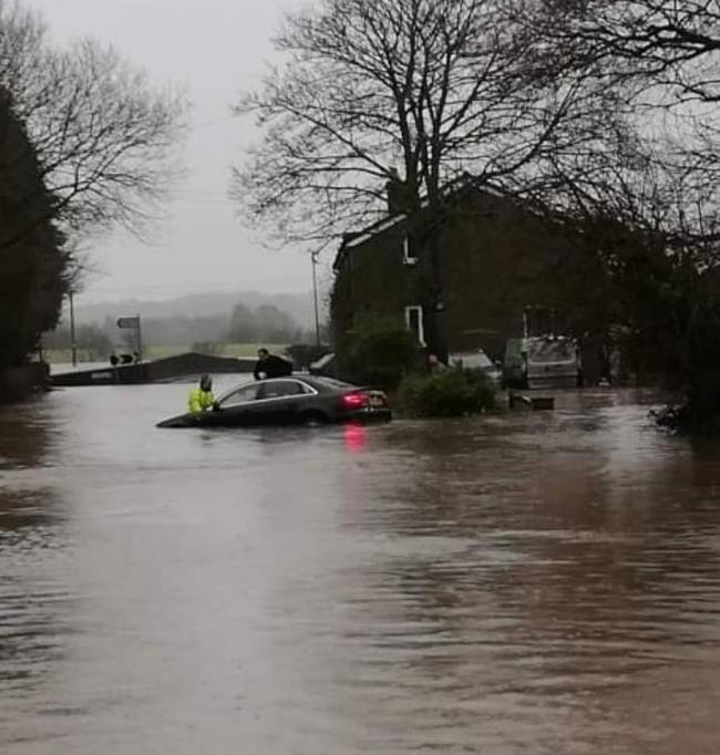 Flooding in Ribchester