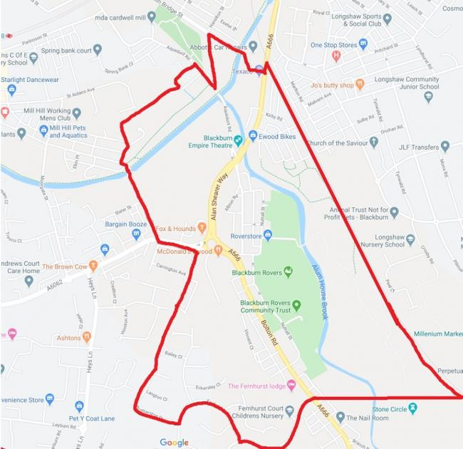 A dispersal order has been put in place for the Ewood area of Blackburn to prevent anti-social behaviour for children and teenagers
