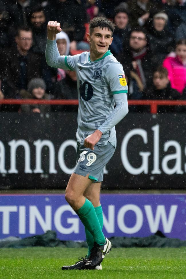 John Buckley opened the scoring for Rovers at Charlton
