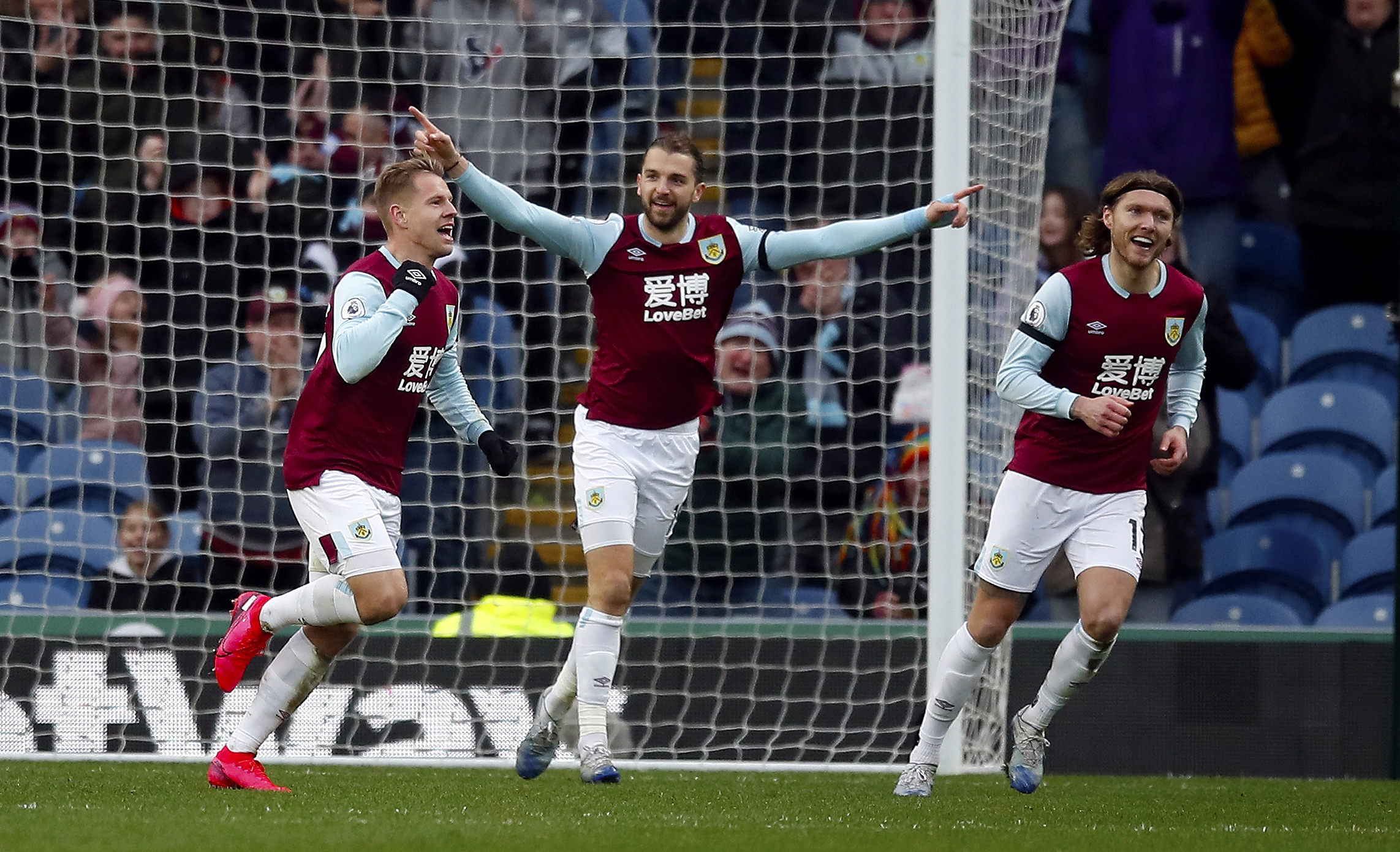 How Burnley's players rated in their 3-0 win against Bournemouth