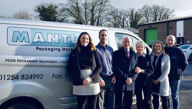 Staff at Whalley-based Mantle Packaging Machinery are celebrating after reaching the final of the North-West Family Business Awards