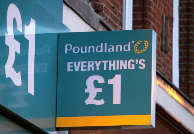 Poundland has reopened 15 stores