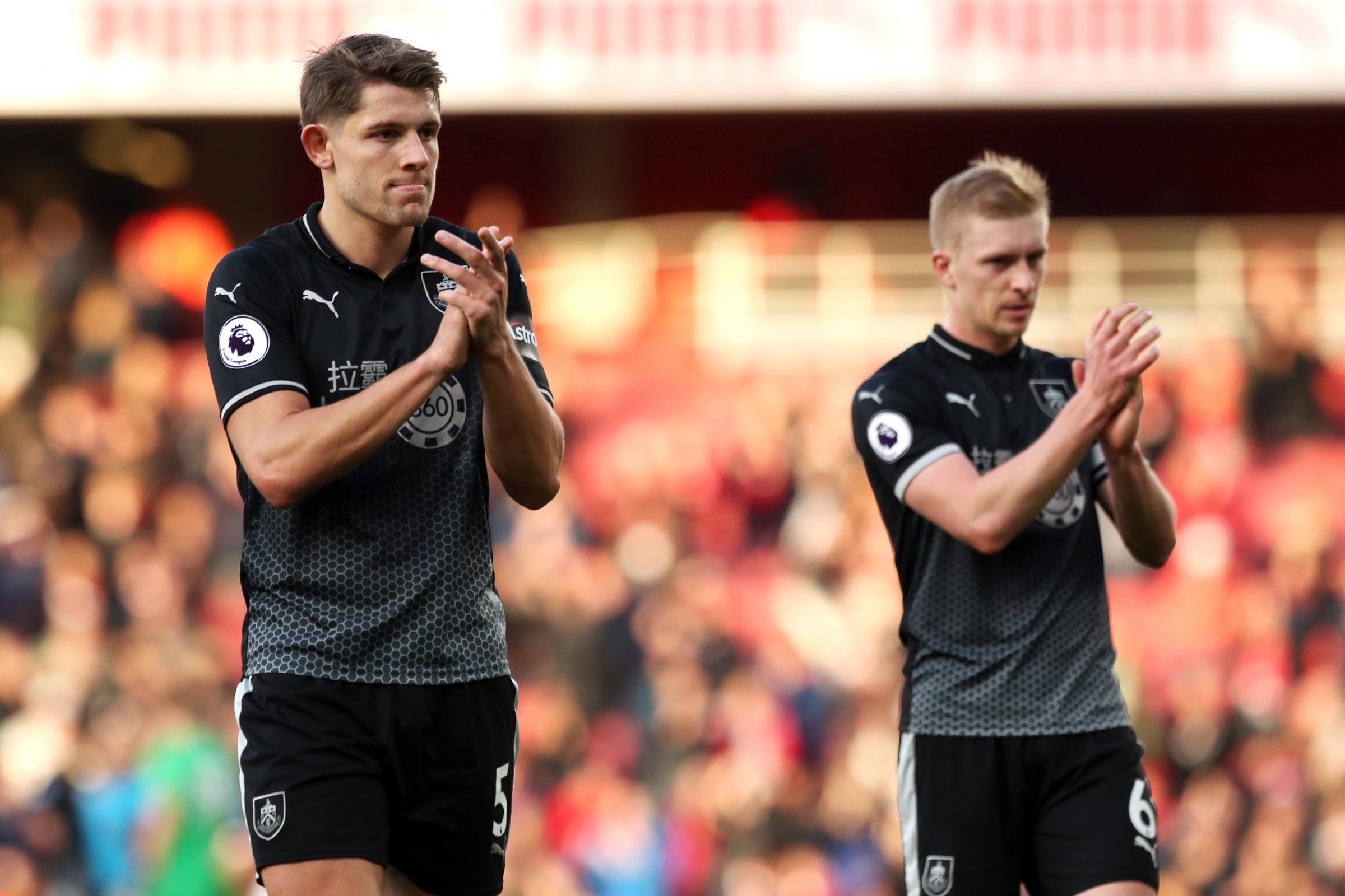 Burnley duo baffled by Tarkowski's England omission