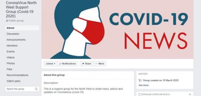 Coronavirus support group set up on Facebook