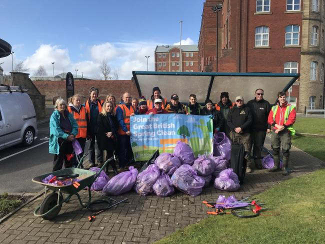 Great British Spring Clean: Community groups unite for charity campaign