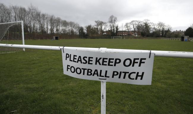Professional football in England will not resume until April 30 at the earliest