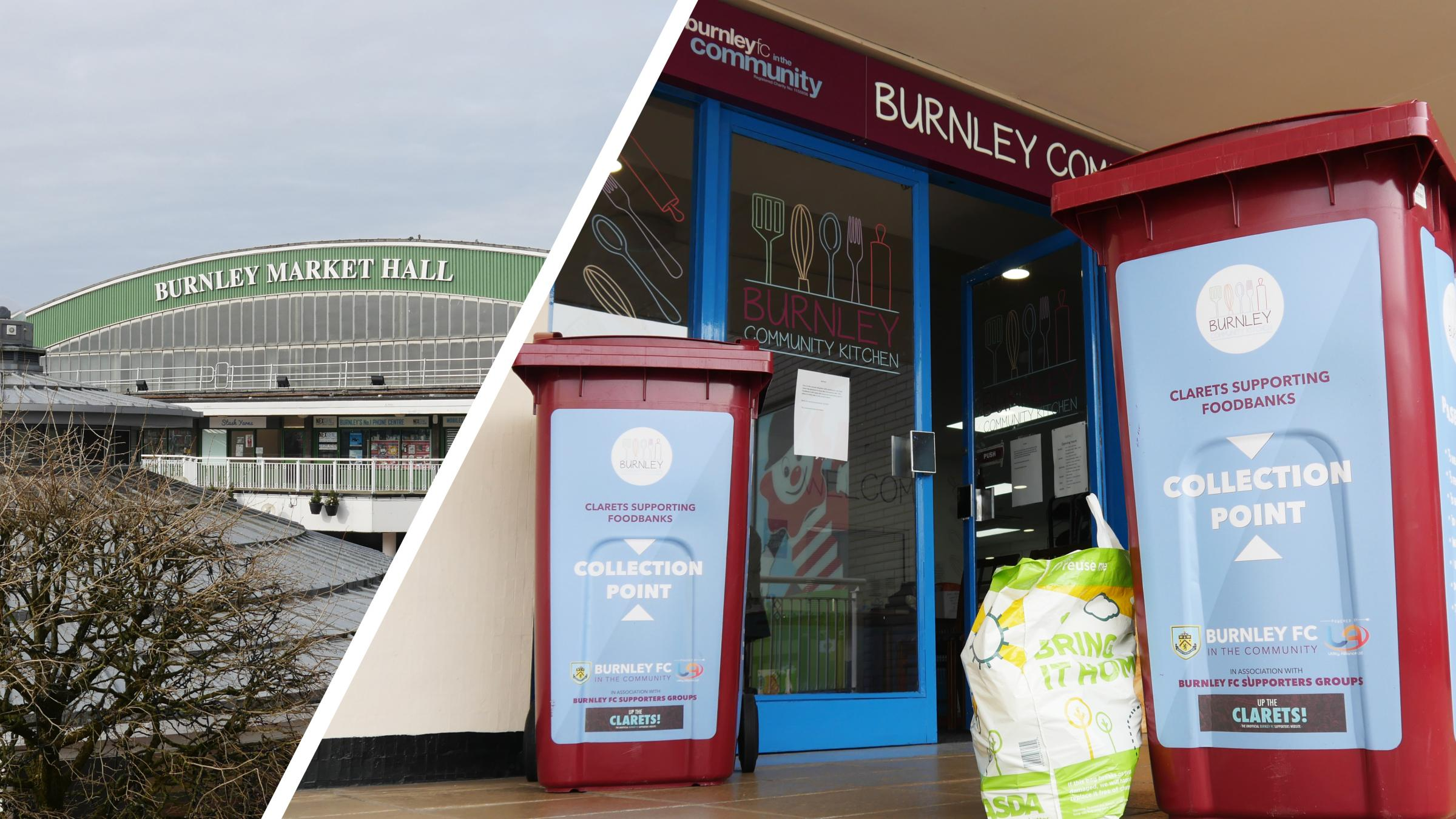 Burnley's donation to community foodbank amid coronavirus outbreak