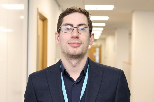 Daniel McKay, a recruitment advisor for Together Housing Group