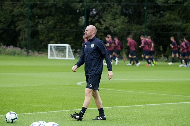 Burnley's players will not be training at the Barnfield Training Centre until at least April 6