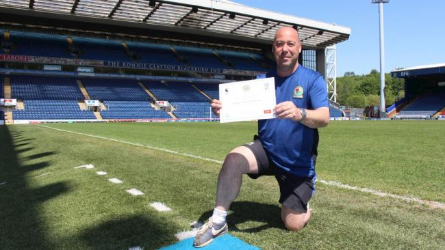 Rovers' long-serving groundsman Trevor Wilkin