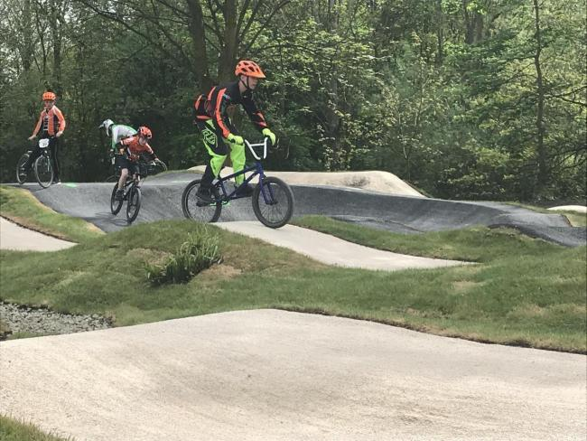 A bid has been put together to try to bring a bike facility to Great Harwood. There is another bike facility with the Steven Burke Pump Track in Pendle