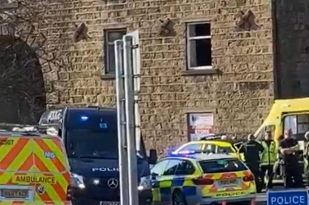 A building has collapsed in Church, Accrington