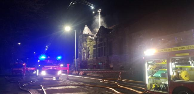 Warning to vandals after fire at 'treacherous' former chapel