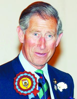 ROYAL APPOINTMENT: How new Clarets follower The Prince of Wales might look if he visits Turf Moor