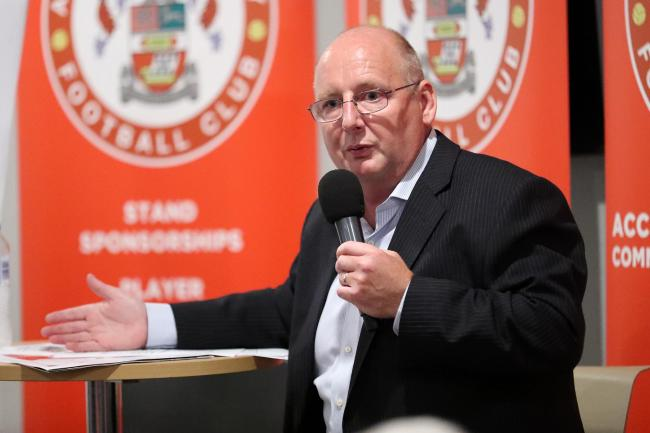 Accrington owner Andy Holt. Picture: KIPAX