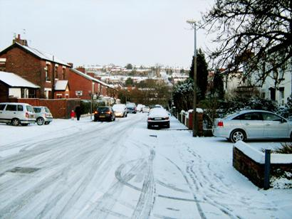Lancashire Telegraph: Photos of snow in Blackburn