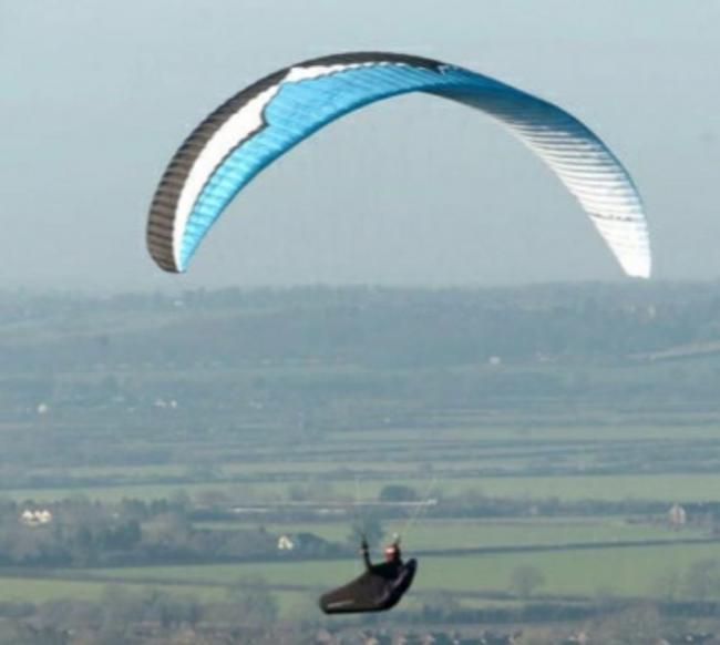 Pendle Hill Paraglider