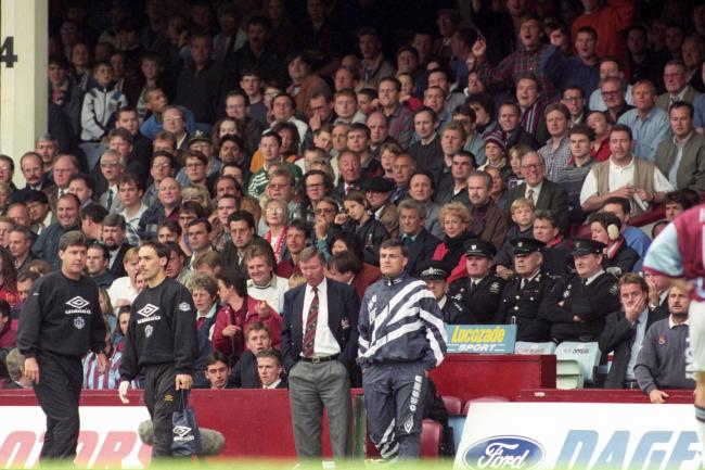 Manchester United were beaten by West Ham on the final day in 1995